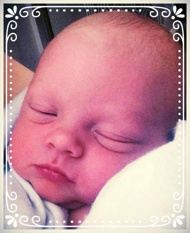 Brandon Paul embryo adoption baby boy