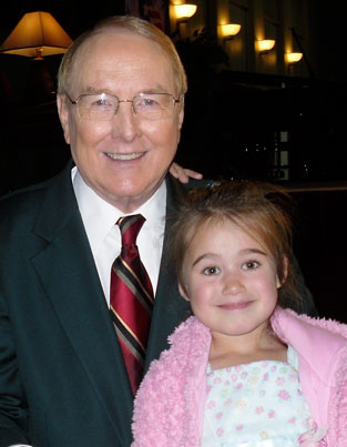 Dr. James Dobson and Elisha Lancaster