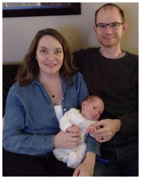 Franklin Robert with Parents