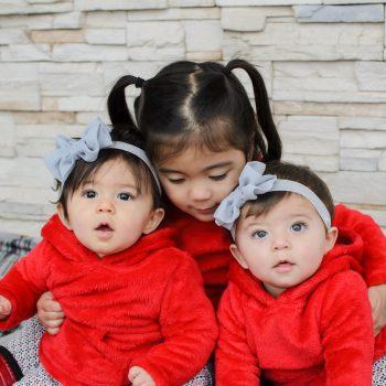 Gabriella, Amelia & Big sister