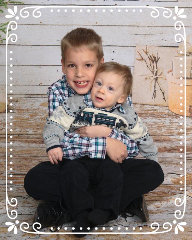Joshua and Jeremiah Christmas