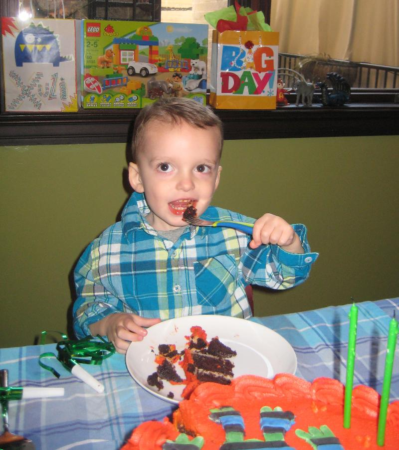 Julian 2nd Birthday
