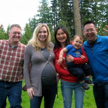 Neville, Beth, Tristan & Donor Fam